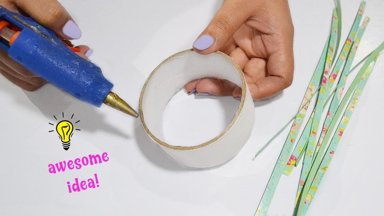 How to make room decor with Empty Tape Roll