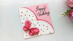 How To Make Birthday Gift Card Diy Greeting Cards For Birthday