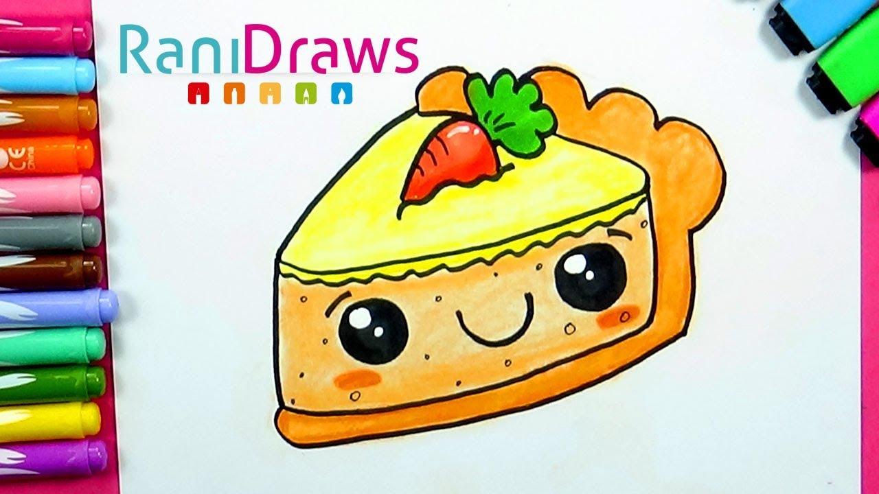 Como Dibujar Un Pastel De Zanahoria Kawaii Dibujos Kawaii Faciles Bizimtube Creative Diy Ideas Crafts And Smart Tips Dibujos kawai para colorear de animales y personas. zanahoria kawaii dibujos kawaii