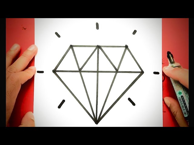 How To Draw A Diamond Draw Cool Things Draw Cute Things