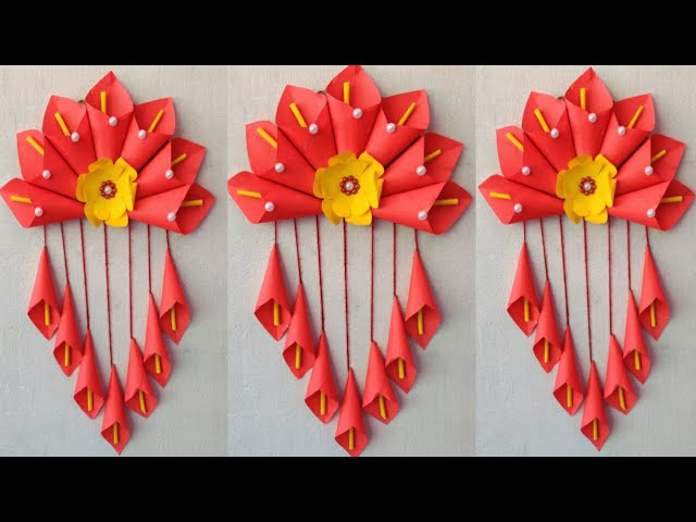 Simple And Very Easy Paper Wall Hanging Paper Decoration Beautiful Home Decor Easy To Make 292