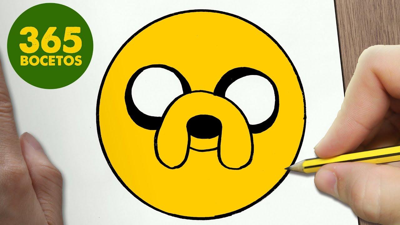 Como Dibujar Jake Emoticonos Whatsapp Kawaii Paso A Paso Dibujos Kawaii Faciles Bizimtube Creative Diy Ideas Crafts And Smart Tips Top five dibujos para colorear kawaii 365bocetos circus. como dibujar jake emoticonos whatsapp