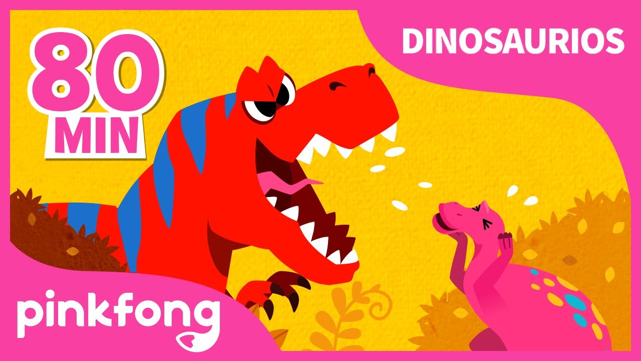 Dinosaurios Para Niños Recopilación Pinkfong Canciones Y Cuentos Infantiles