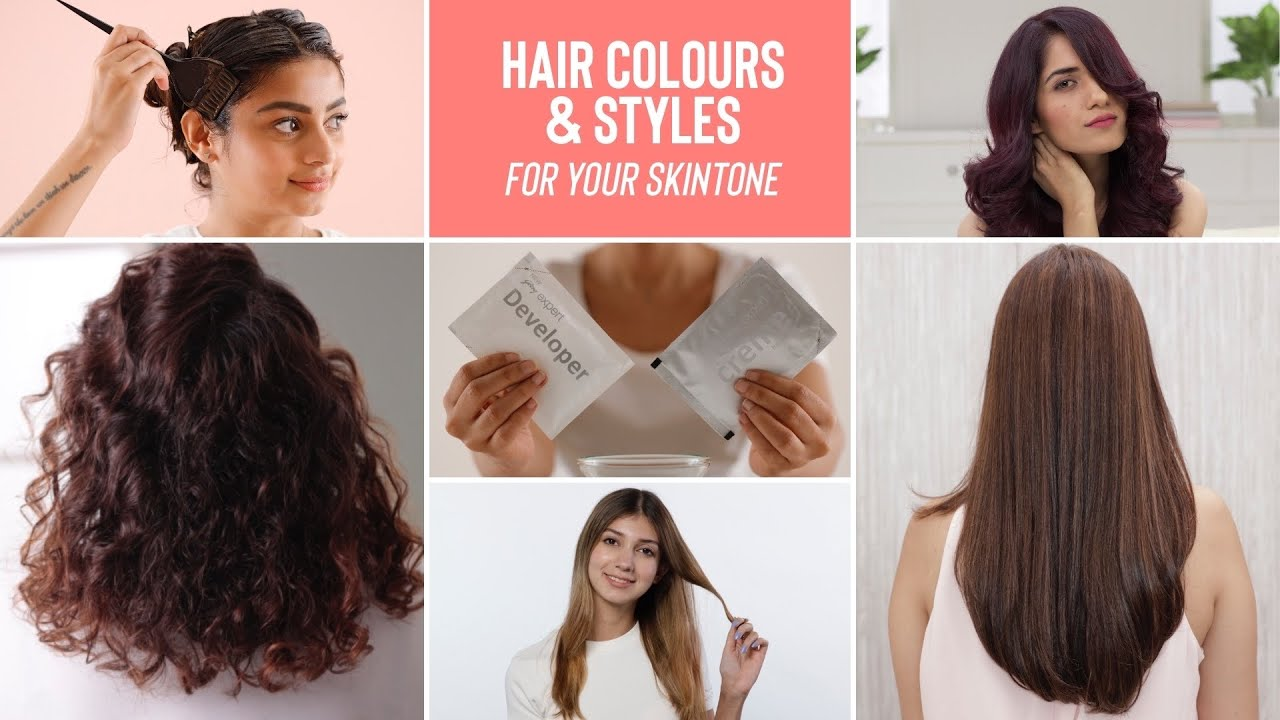 Trendy & Simple Hair Colours and Styles To Suit Every Hair Type & Length
